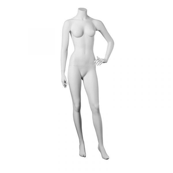 Manichino donna in fibra senza testa