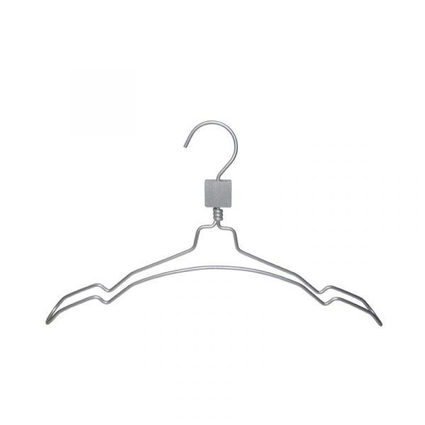 Box 100 grucce capospalla alluminio con spacchi AL02/40