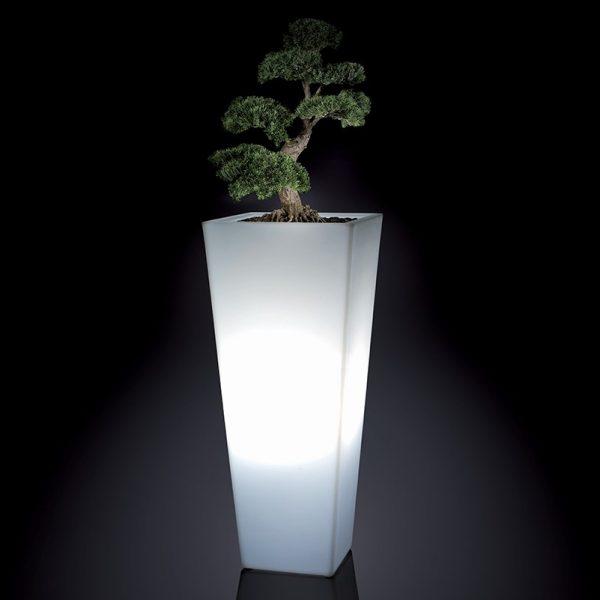 Vaso polietilene illuminato LL Emo 98-V