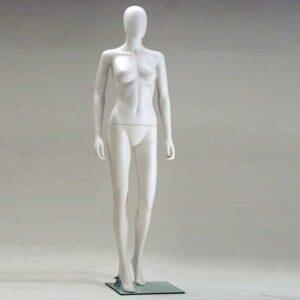 Manichino Donna in plastica bianco SFH2